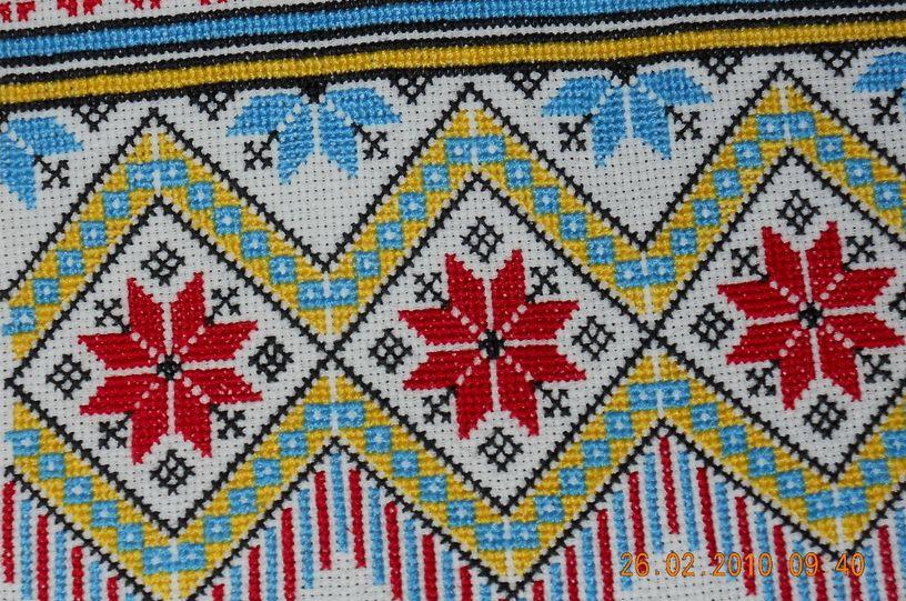 Узоры в украинских вышивках 305